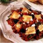 Beef with Ravioli and Cheese