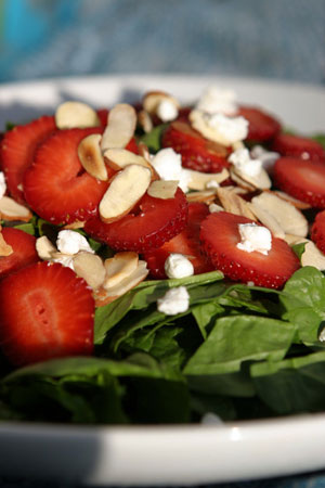 Festive Strawberry Nut Salad
