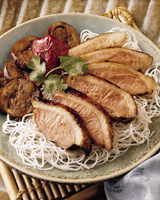 Barbecued Duck with Hoisin-Glazed