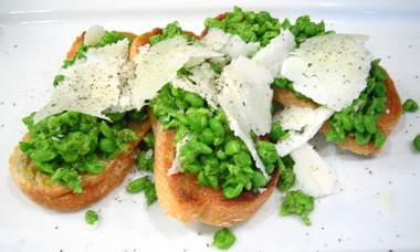 Minted Mashed Peas