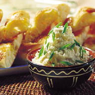 Potato and Fetta Cheese Spread