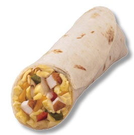 Mexican Quick Breakfast Burrito