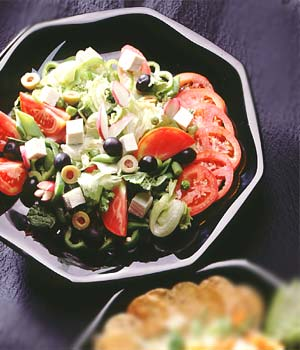 Fiesta Fruit Vegetable Salad