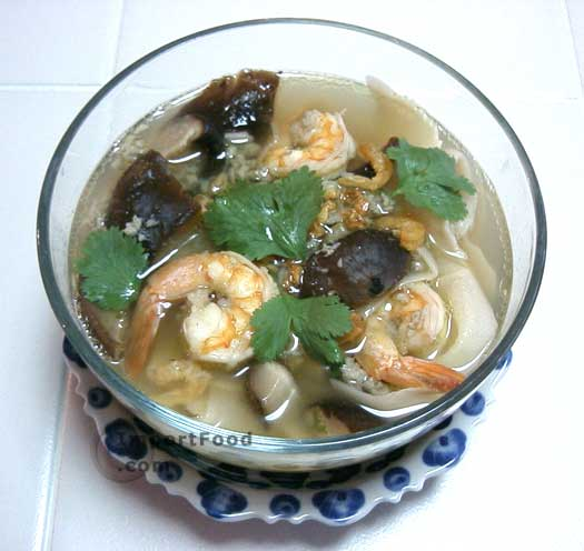 Shrimp and Callaloo Soup