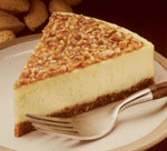 Almond Praline Cheesecake