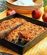 Apple-Walnut Cobbler with Cinnamon