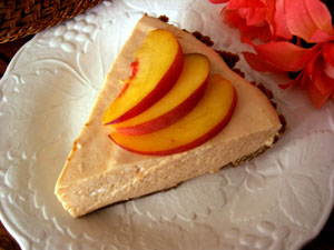 Peaches with Creamy Mascarpone Filling