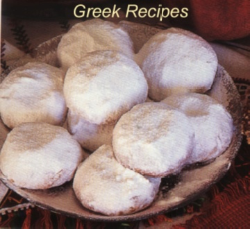 Greek Almond Biscuits