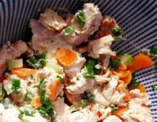 Hawaiian Turkey Salad with Coconut