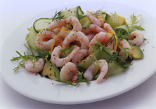 Shrimp and Avocado Salad with Pimentos