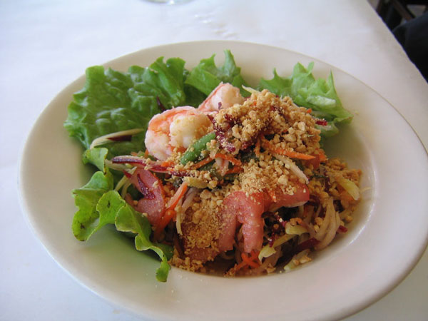 Shrimp and Papaya Salad