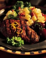 Grilled Pork Shoulder Steaks