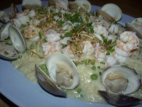 Risotto and Clams with Rice