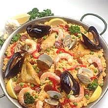 PAELLA - Spanish Seafood Fried Rice