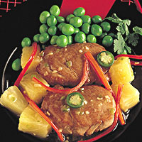 Pork Tenderloin with Cinnamon and Pineapple