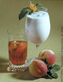 Peaches and Cream Liqueur
