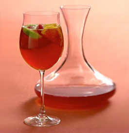 Spiced Red Wine with Brandy and Citrus