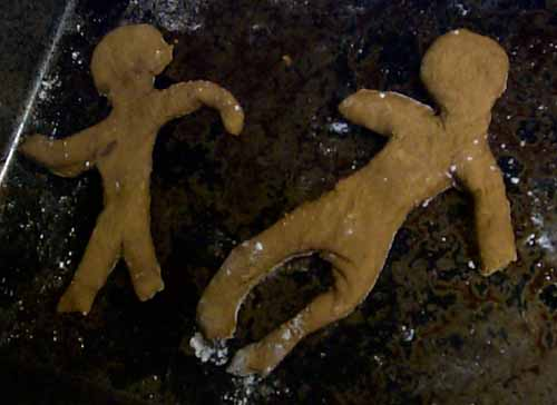 Gingerbread Corpses