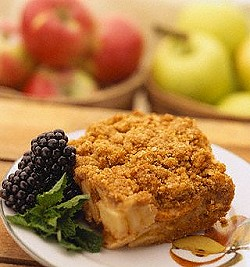 Down Home Apple Cobbler