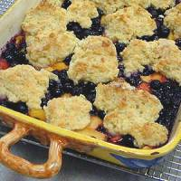 Rise and Shine Fruit Cobbler