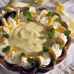 Ambrosia Cream Pie