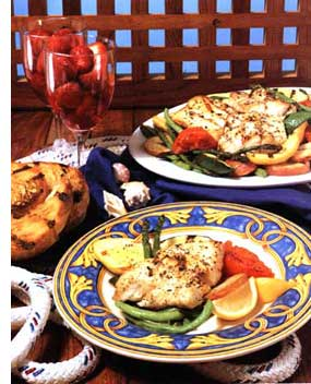 Trout In Chablis Cream
