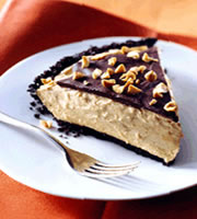 Peanut Butter Custard Pie