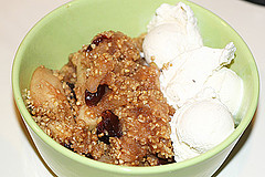 Cherries Jubilee Crisp