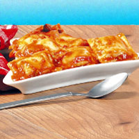 Baked Ravioli and Cheese