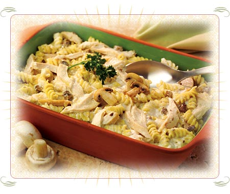 Chicken Cashew Pasta