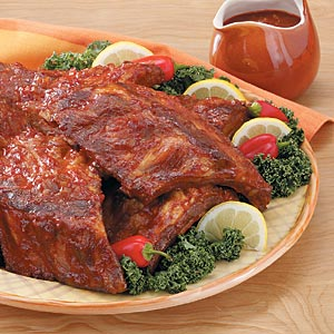 Alaska State Fair Barbecued Spareribs
