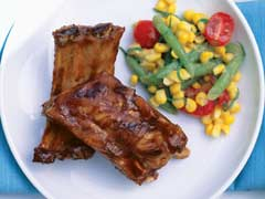 Cherry Coke Barbecue Ribs