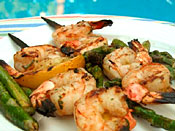 Citrus Shrimp Kabobs