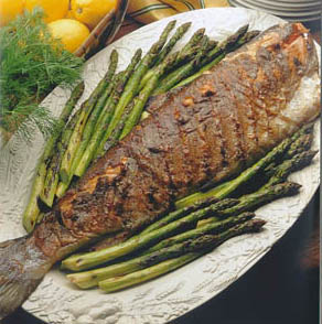 Lemon Dill Salmon Grill