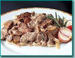 Busy Day Beef Stroganoff