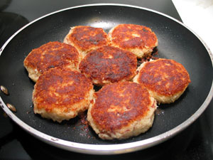 Corned Beef Hash Brown Patties
