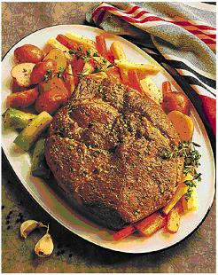 Peachy Cola Beef Roast