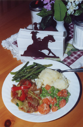 Ranch Round Steak