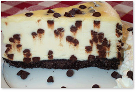CRESCENT  CHOCOLATE  CHIP  CHEESE  CAKE