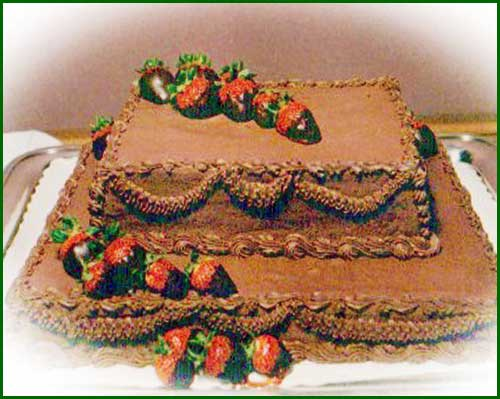CHOCOLATE  SHEET  CAKE II