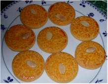 Finnish Almond Cookies