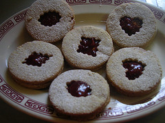 JAM  FILLED  COOKIES  FOR  XMAS