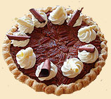 Bourbon and Chocolate Pecan Pie