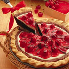 Chocolate Cherry Cream Pie
