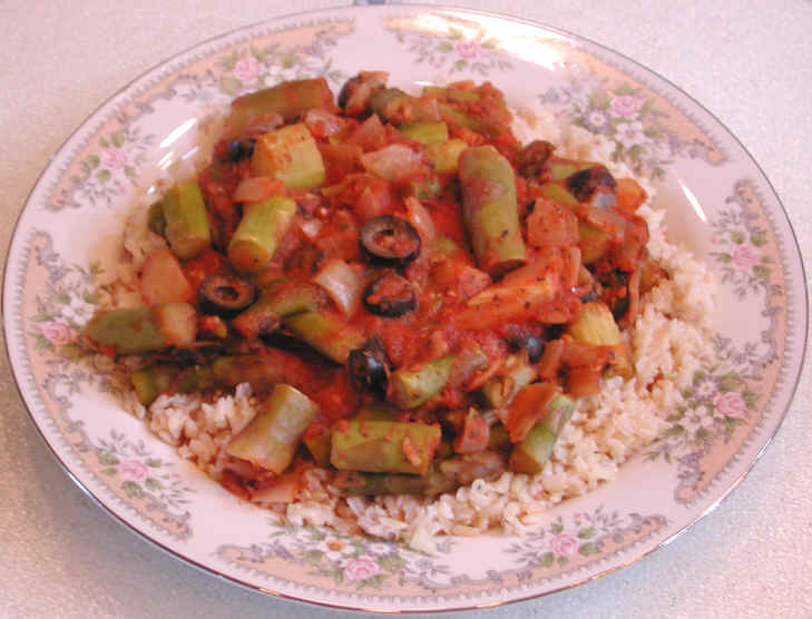 CASHEW AND TOMATO BROWN RICE