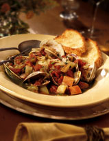 Minestrone With Clams