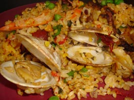 ONE-HOUR PAELLA