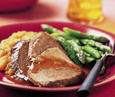 Pot Roast with Mustard Sauce