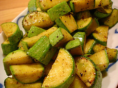 Stir-Fried Zucchini