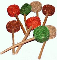 JELLO  GELATIN  DIXIE  LOLLIPOPS